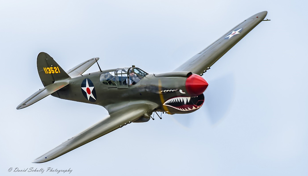 P-40 Kitty Hawk from Erickson Aircraft Museum 2